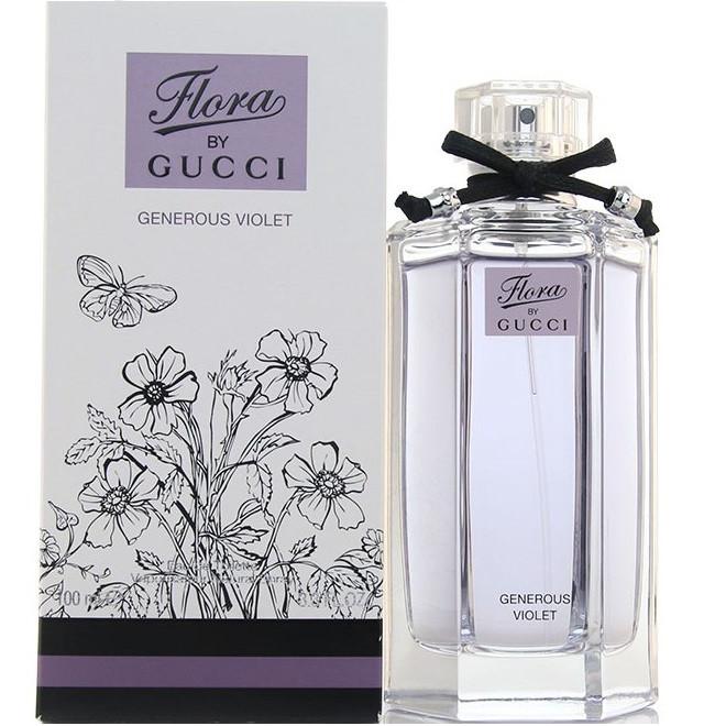 Женская туалетная вода Flora by Gucci Generous Violet EDT 100 ml реплика
