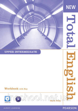 New Total English Upper Intermediate Workbook (with Key) and Audio CD ISBN: 9781408267417, фото 2
