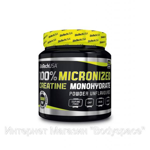 Biotech USA, Креатин 100% Creatine Monohydrate, 300 грамм