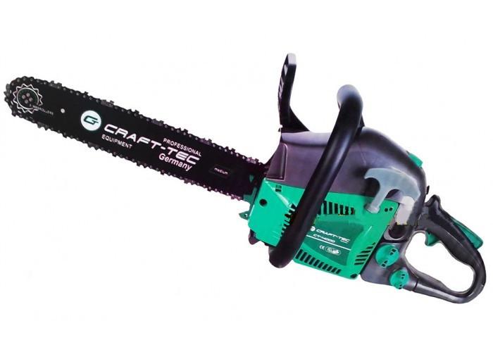 Бензопила Craft-Tec CT-4000 2 шины + 2 цепи (40см)