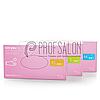 Нитриловые перчатки розовые Nitrylex PF PINK текстурированные на пальцах, неопудренные, 50пар в упаковке