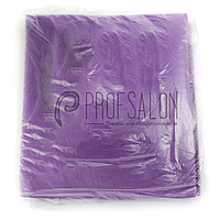 Чехол на кушетку 0,8х2,1м Panni Mlada, бесшовный спанбонд 70 г/м2, универсальный с резинкой, 1 шт, фиолетовый