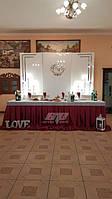 Ширмы глянцевые, фотозона на свадьбу, глянцевый круг, глянцевые панели
