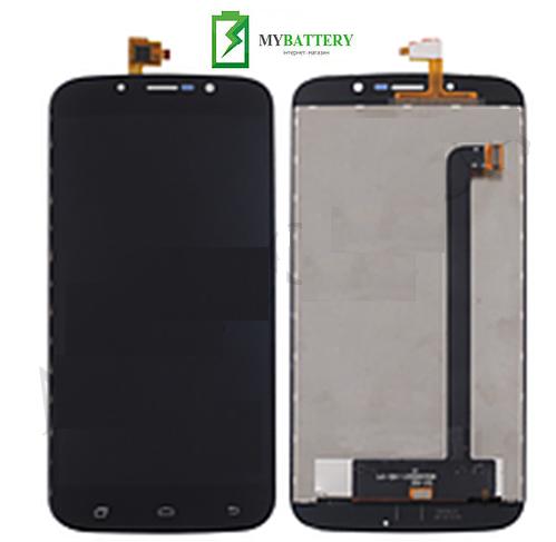Дисплей (LCD) Bravis A553 Discovery с сенсором черный
