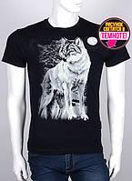 Качественная мужская футболка со светящимся рисунком, фото 1