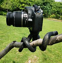 Гибкий штатив для телефона,фотокамер,экшн камер LZ-30, фото 3