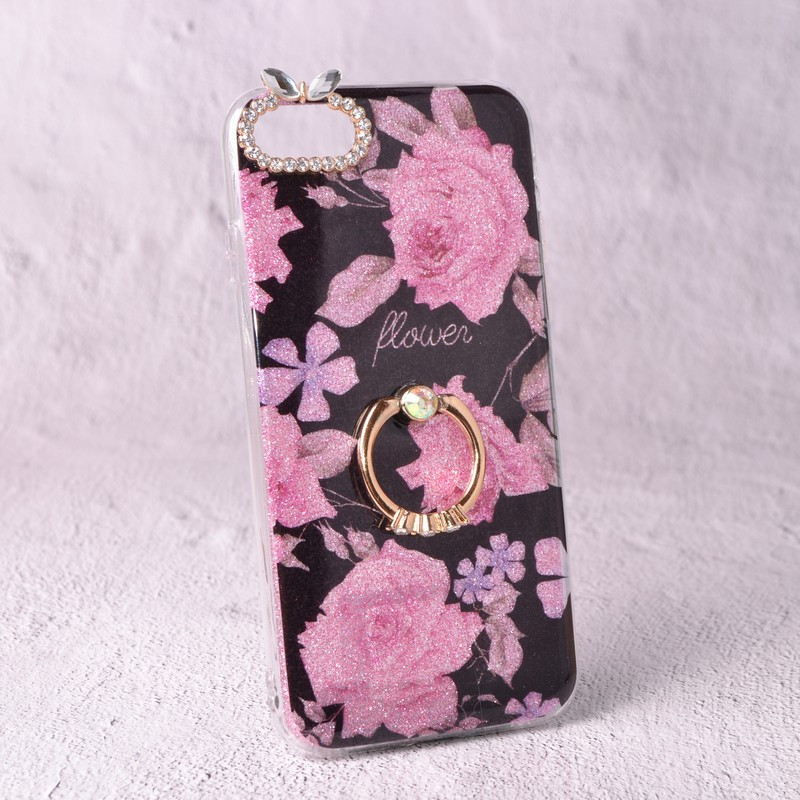 Чехол-накладка TPU Luxury Roses для iPhone 6 / 6S
