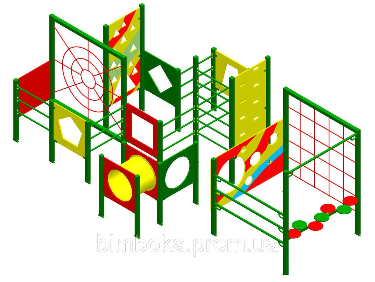 """Спортивно-игровой комплекс """"Полоса препятствий"""""""