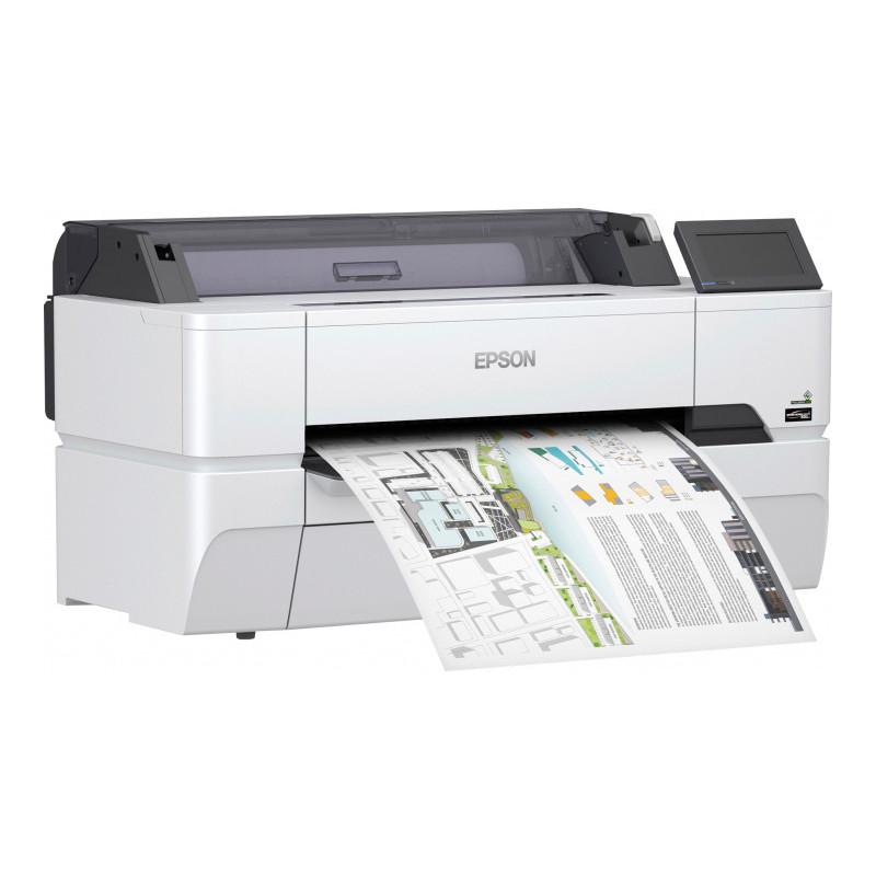 Принтер Epson SureColor SC-T3400N 24'', без стенда (C11CF85302A0)