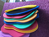 Одноразовые тапочки-вьетнамки для салонов, саун, бань, гостиниц, т. 5 мм хим. плотность 33 кг/м3, 39-42, фото 6