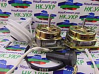 Ремкомплект для стиральной машины полуавтомат (двигатель отжима, стирки, редуктор, конденсатор, ремень)
