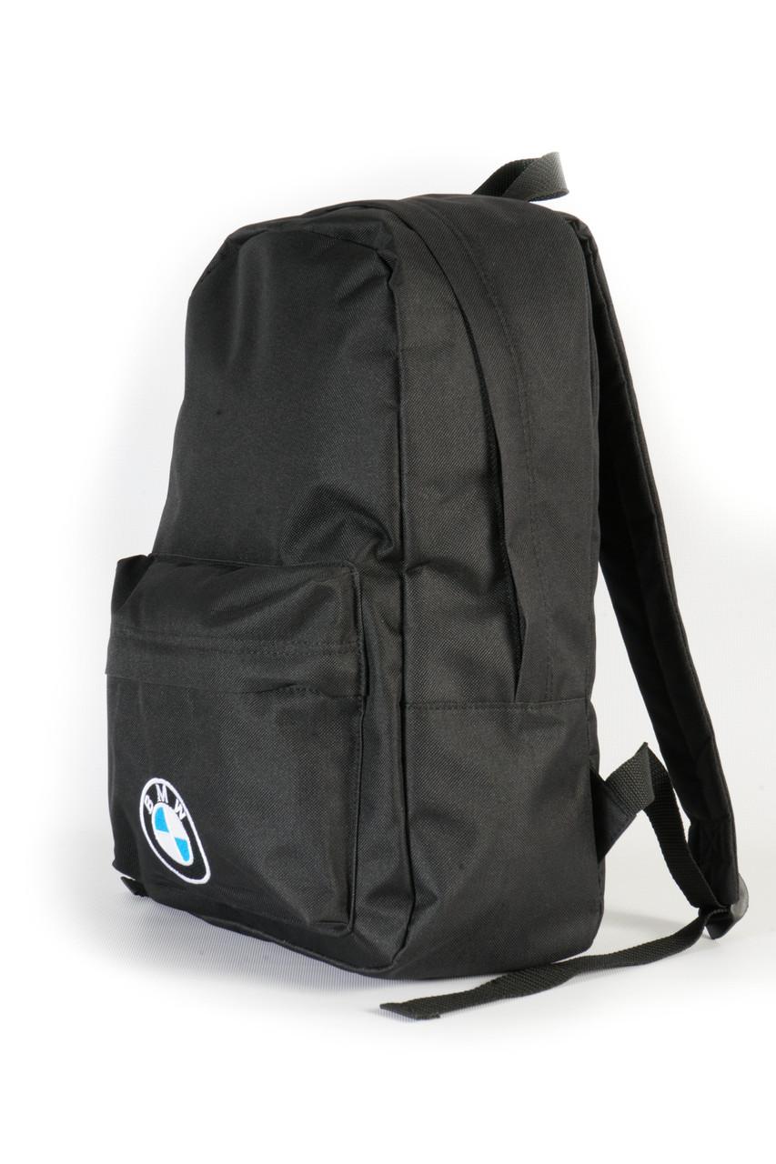Молодежный черный рюкзак BMW 14 л, фото 2