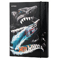 Папка для тетрадей на резинках Kite Hot Wheels HW19-210, картон