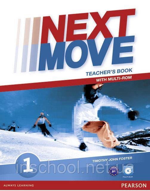 Next Move 1 Teacher's Book with Multi-ROM ISBN: 9781447943563