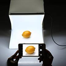 Лайткуб (фотобокс) 30*30 см+ Штатив для предметная съемки (Комплект для Instagram), фото 2