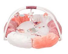 Развивающий коврик с дугами и подушками Адель и Валентина
