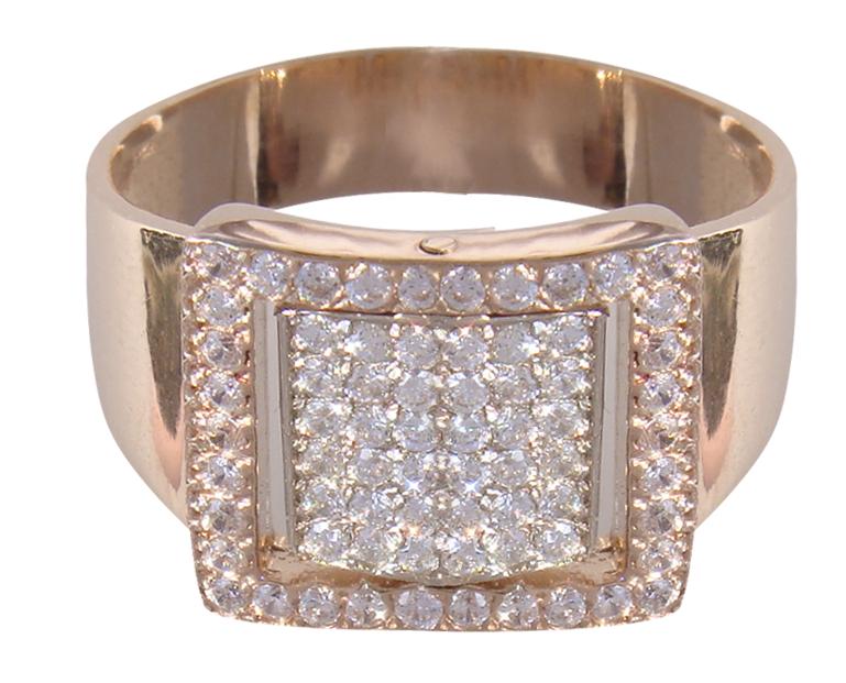 Перстень мужской (печать) 12027