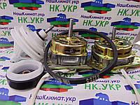 Ремкомплект для стиральной машины полуавтомат (двигатель отжима, стирки, редуктор, ремень, сальник), фото 1