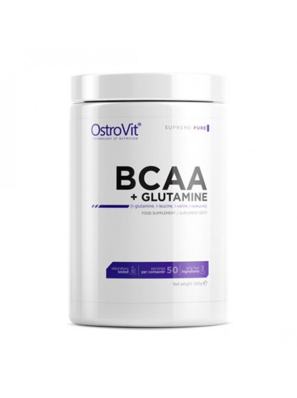 Амінокислоти OstroVit ANTICAT BCAA + L-Glutamine