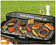 Домашний электрический гриль  Electric Barbecue Grill WY-006 2000W, фото 2
