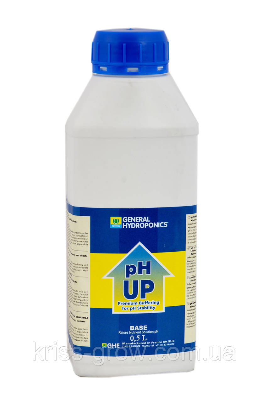GHE pH UP 0,5 літра
