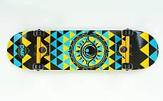 Скейтборд деревянный канадский клен для трюков Fish Skateboards - EYE глаз 79см (sk87), фото 3