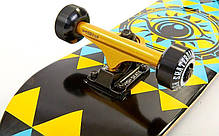 Скейтборд деревянный канадский клен для трюков Fish Skateboards - EYE глаз 79см (sk87), фото 2
