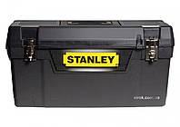"""Ящик для інструменту STANLEY з органайзером та метал замками 25""""/  63,5 x 29,2 x 31,6 см"""