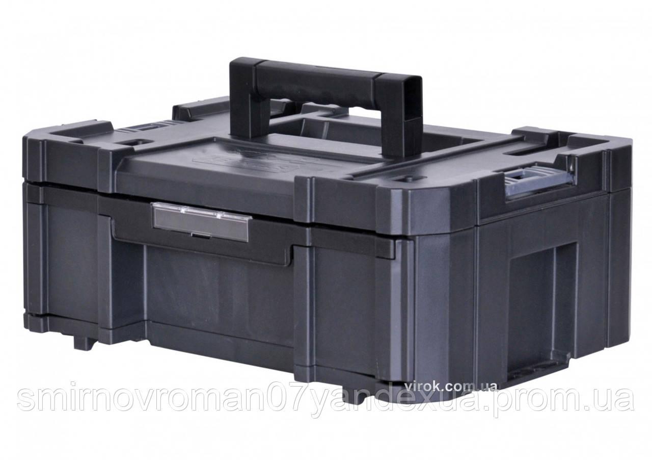 """Ящик для інструменту глибокий STANLEY """"FatMax"""" TSTAK III 44 х 33 х 18 см"""