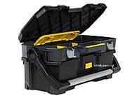 Ящик для інструмента STANLEY пластмасовий зі знімним кейсом 67х32,3х38,3 см