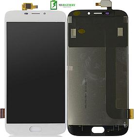 Дисплей (LCD) Doogee X9/X9 Pro с сенсором белый
