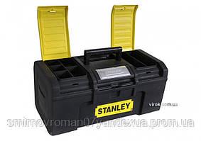"""Ящик для інструменту 19"""" пластмасовий """"Stanley Line Toolbox""""; 48,6 x 26,6 x 23,6 см"""
