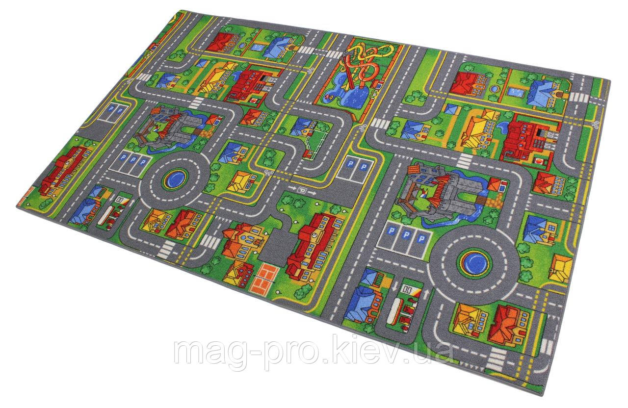 Детский ковролин с дорогами AW PLAYCITY