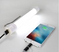 Портативное зарядное устройство Power Bank LED фонарик 5200mAh