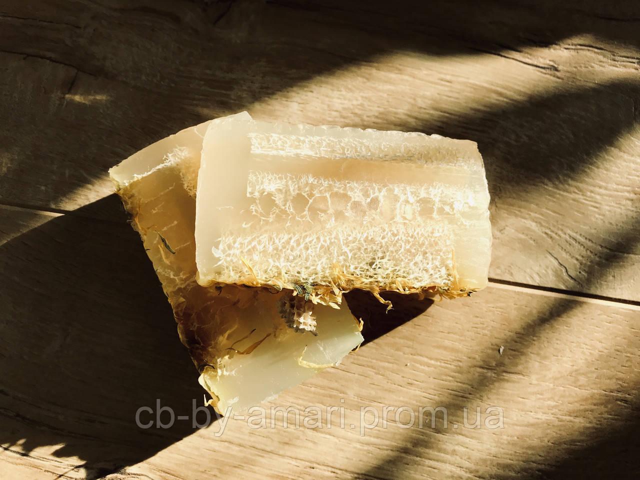 Мыло (глицериновое) с люфой и розмарином, г 125