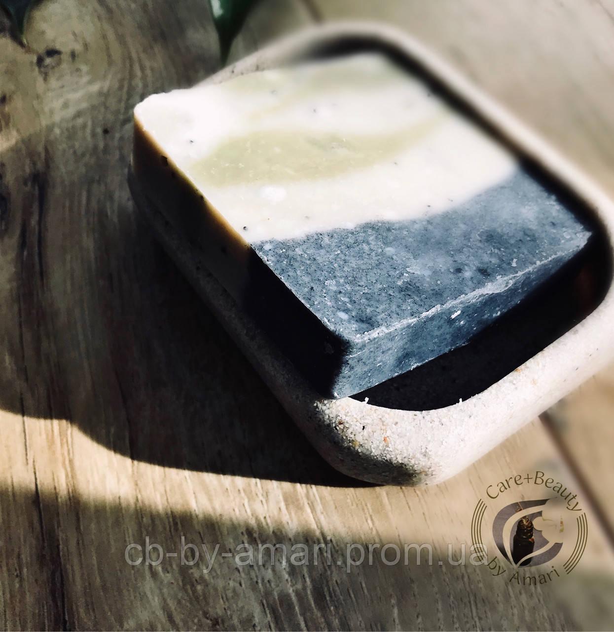 Мыло (с нуля) можжевеловое с лемонграссом, г100