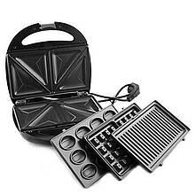 Мультипекарь Livstar LSU-1219, 4 в 1, вафельница, орешница, гриль-тостер, сендвичница