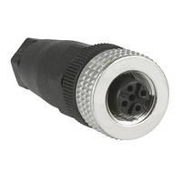 Конектором M12, 4-PIN для індуктивних датчиків XS, пряме з'єднання XZCC12FDM40B