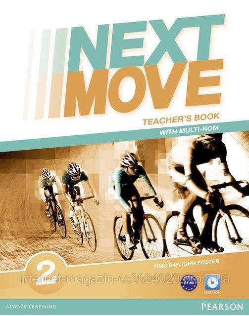 Next Move 2 Teacher's Book with Multi-ROM ISBN: 9781447943594