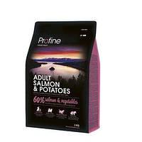 Profine Adult Salmon & Potatoes - корм для собак всех пород (лосось/картофель), 3 кг