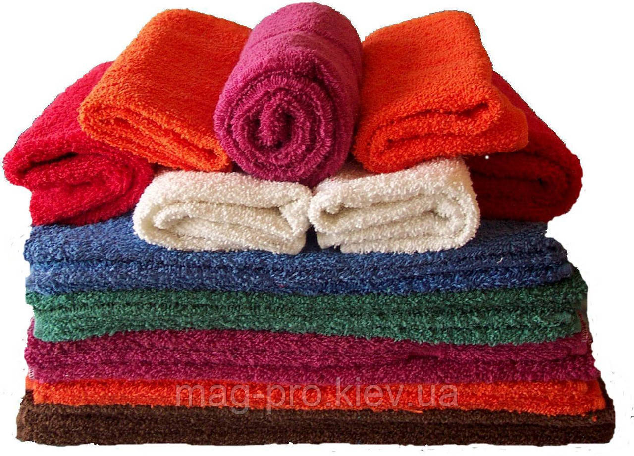Махровое полотенце цветное 50х90 плотность 500гр./м2 Пакистан