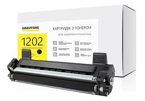 Картридж Brother HL-1202R сумісний (чорний), стандартний ресурс (1000 копій), аналог від Gravitone