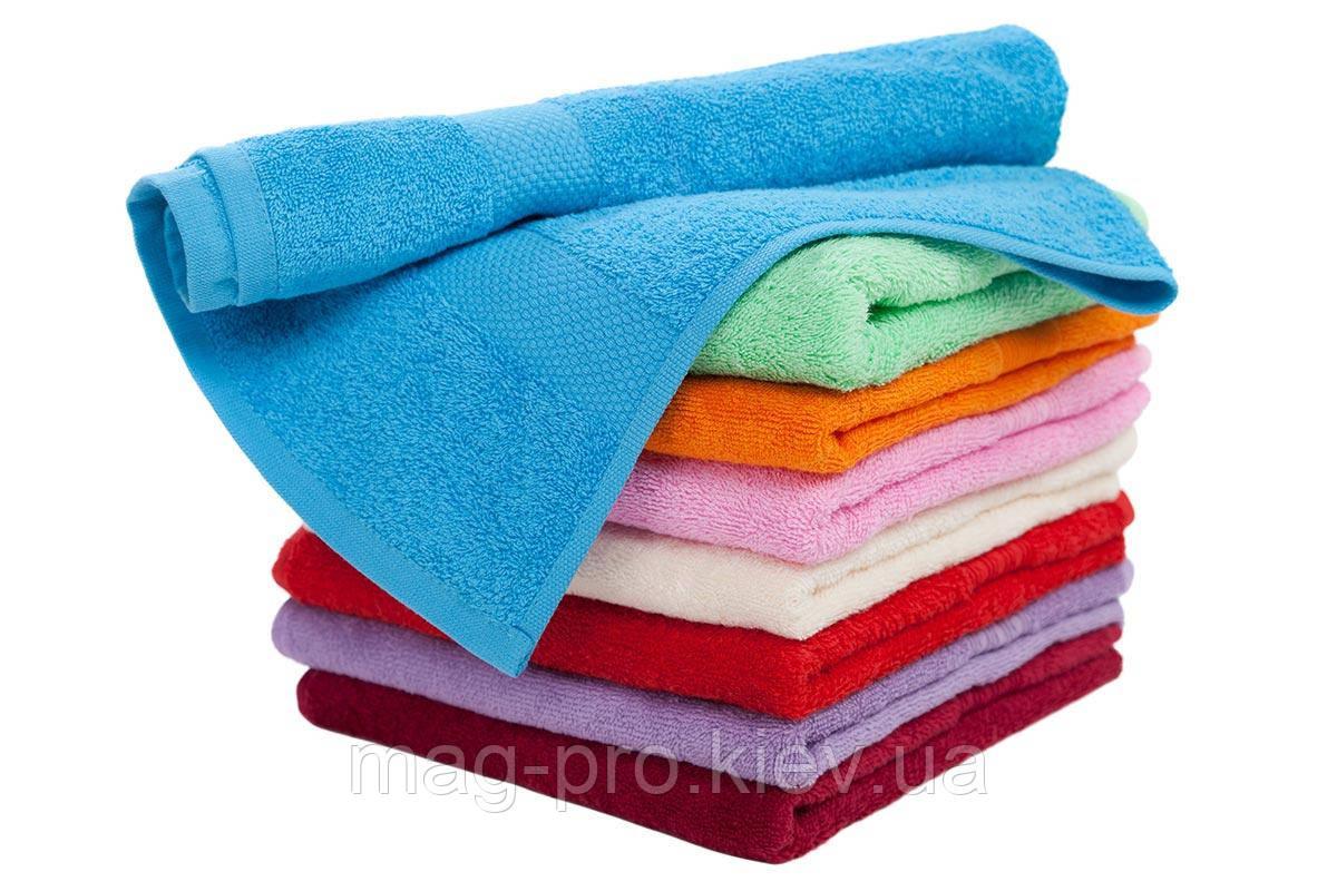 Цветное махроове полотенце 40х70 плотность 500гр./м2 Пакистан