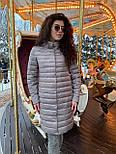 Весенняя длинная женская курточка, фото 3