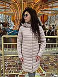 Весенняя длинная женская курточка, фото 4