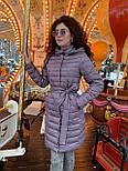 Весенняя длинная женская курточка, фото 5
