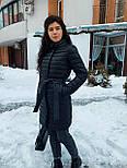 Весенняя длинная женская курточка, фото 6