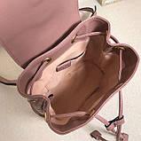 Рюкзак Гучи Marmont стёганный, цвет нюдовый, натуральная кожа, фото 6