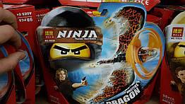 """Конструктор Bela Ниндзяго 10930 """"Коул Повелитель дракона"""" (аналог Lego Ninjago 70645), 98 деталей"""
