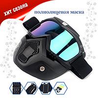 Маска горнолыжная Wolfskiдля лыж и сноуборда SpaceGray (05/01)